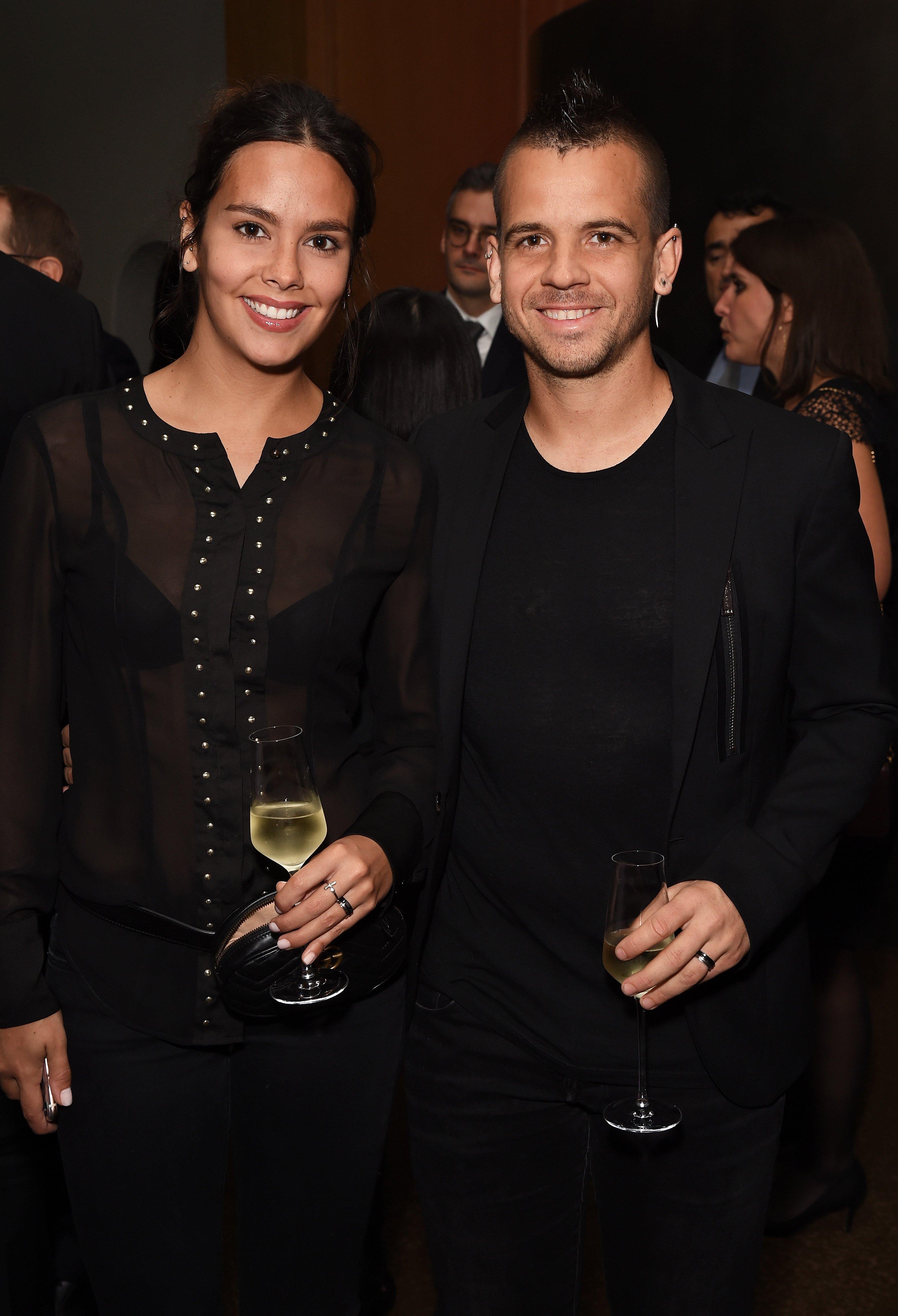 Cristina Pedroche y David Muñoz en el 10° aniversario de Alain Ducasse en el Dorchester, en 2017. || Fuente: Getty Images