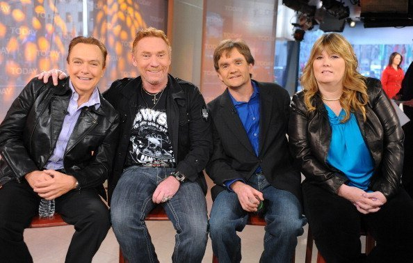 "David Cassidy, Danny Bonaduce, Brian Forster and Suzanne Crough on ""Today Show"" in March 2010 