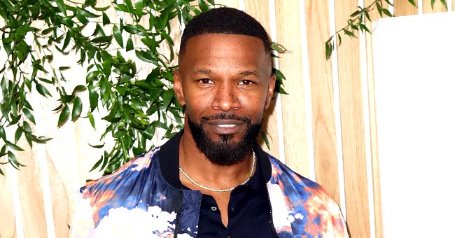 Jamie Foxx's Daughter Corinne Enjoys a Great View as She Flaunts Her Figure in a Blue Bikini