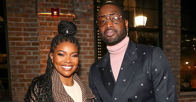 Gabrielle Union & Dwyane Wade's Baby, Kaavia Melts Hearts as She Discovers Her Shadow (Photo)