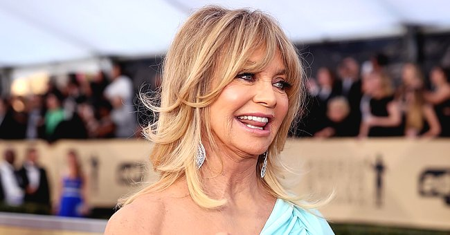 Goldie Hawn Shows off Toned Figure While Dancing on Trampoline and Fans React