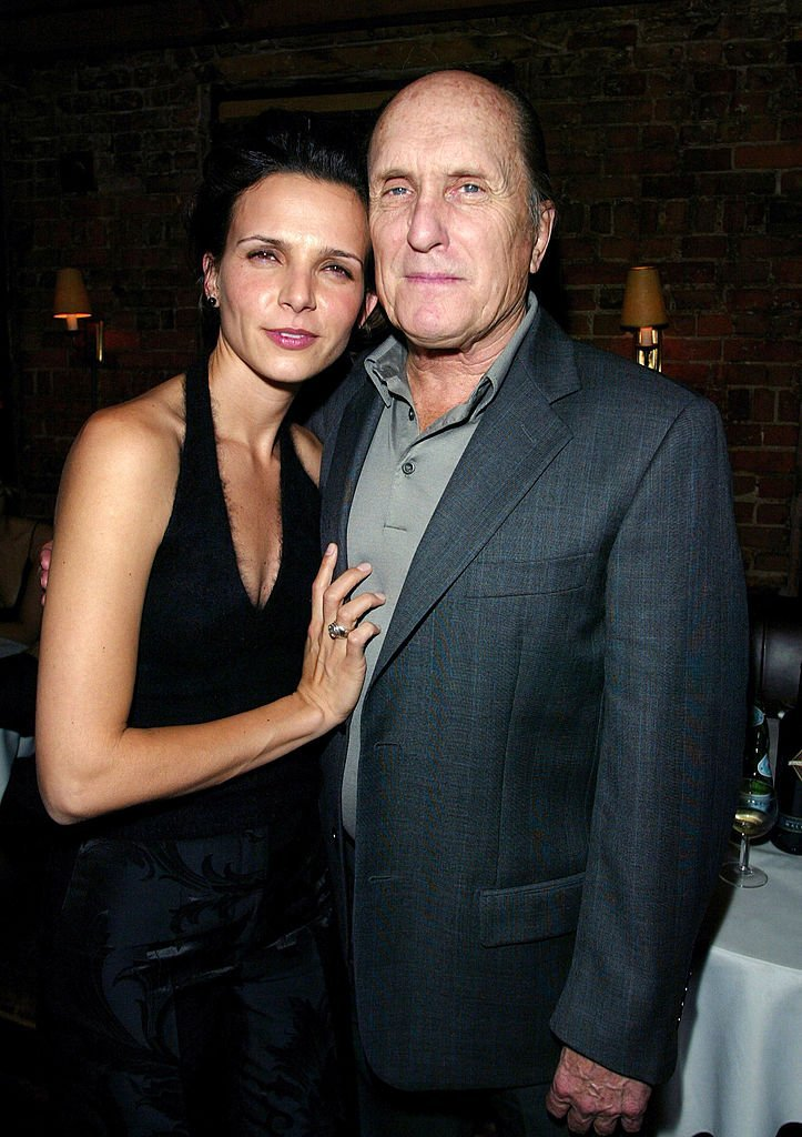 "Robert Duvall and Luciana Pedraza at the ""Assassination Tango"" premiere. 