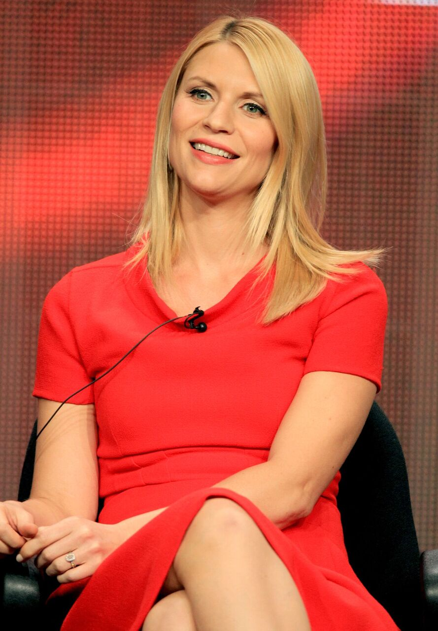"""Claire Danes speaks at the """"Homeland"""" discussion panel during the Showtime portion of the 2012 Summer Television Critics Association tour at the Beverly Hilton Hotel in Los Angeles, California 