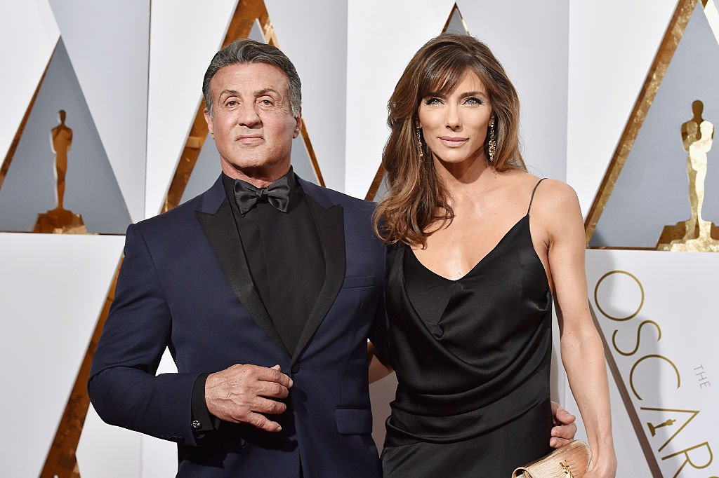 Actor Sylvester Stallone and wife Jennifer Flavin attend the 2016 Annual Academy Awards in Hollywood. California.   Photo: Getty Images