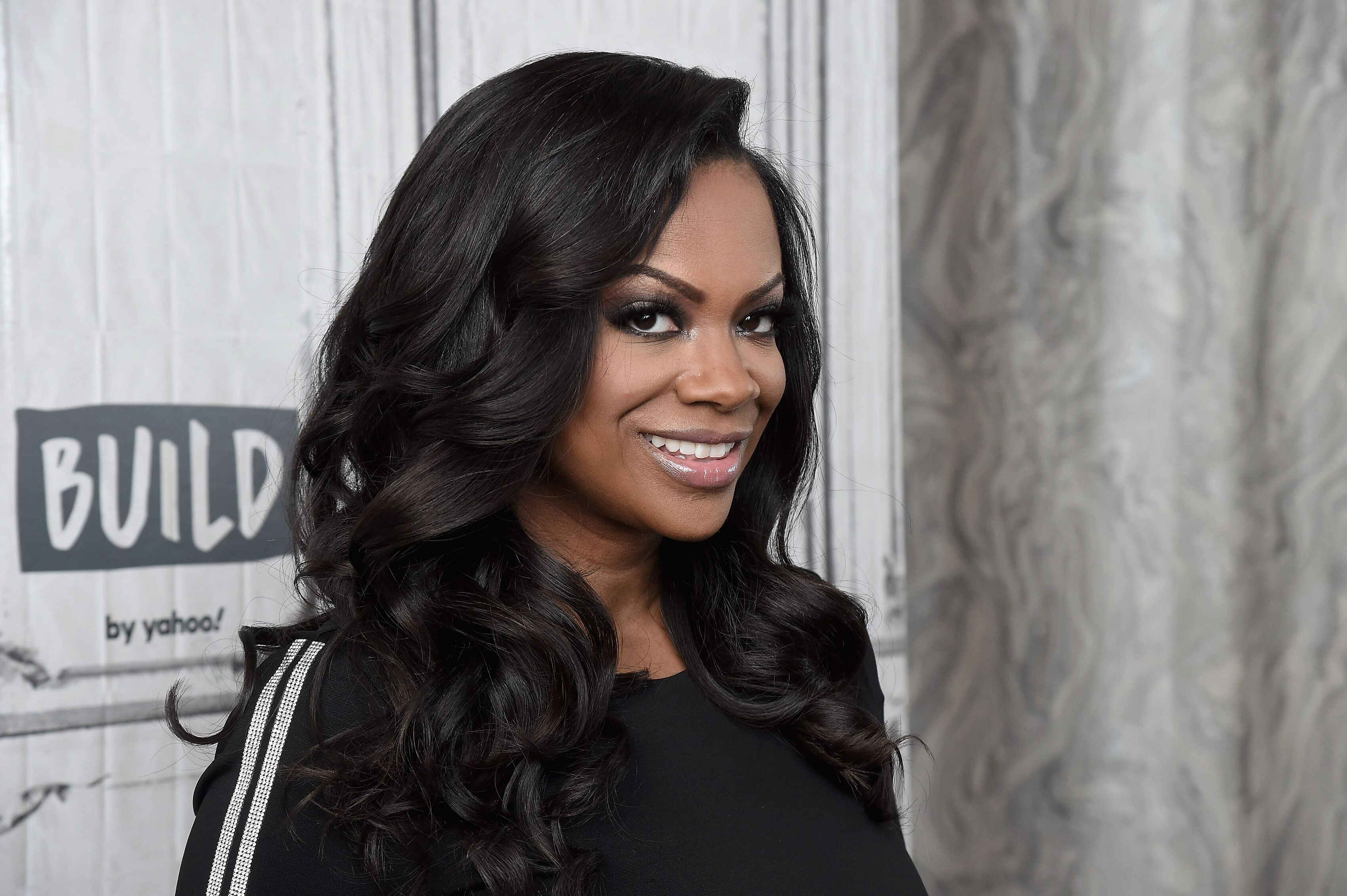 "Kandi Burruss at Build Studio to promote ""The Real Housewives of Atlanta"" in January 2020. 