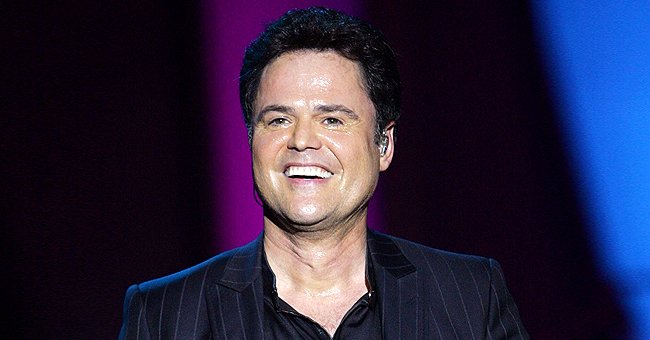 Donny Osmond of 'Donny and Marie' Fame Shares Sweet Throwback Photo with Son Chris on His 29th Birthday