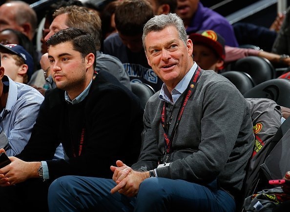 Antony Ressler, principal owner of the Atlanta Hawks, looks on during the game against the Detroit Pistons at Philips Arena on October 27, 2015 in Atlanta, Georgia.| Photo: Getty Images