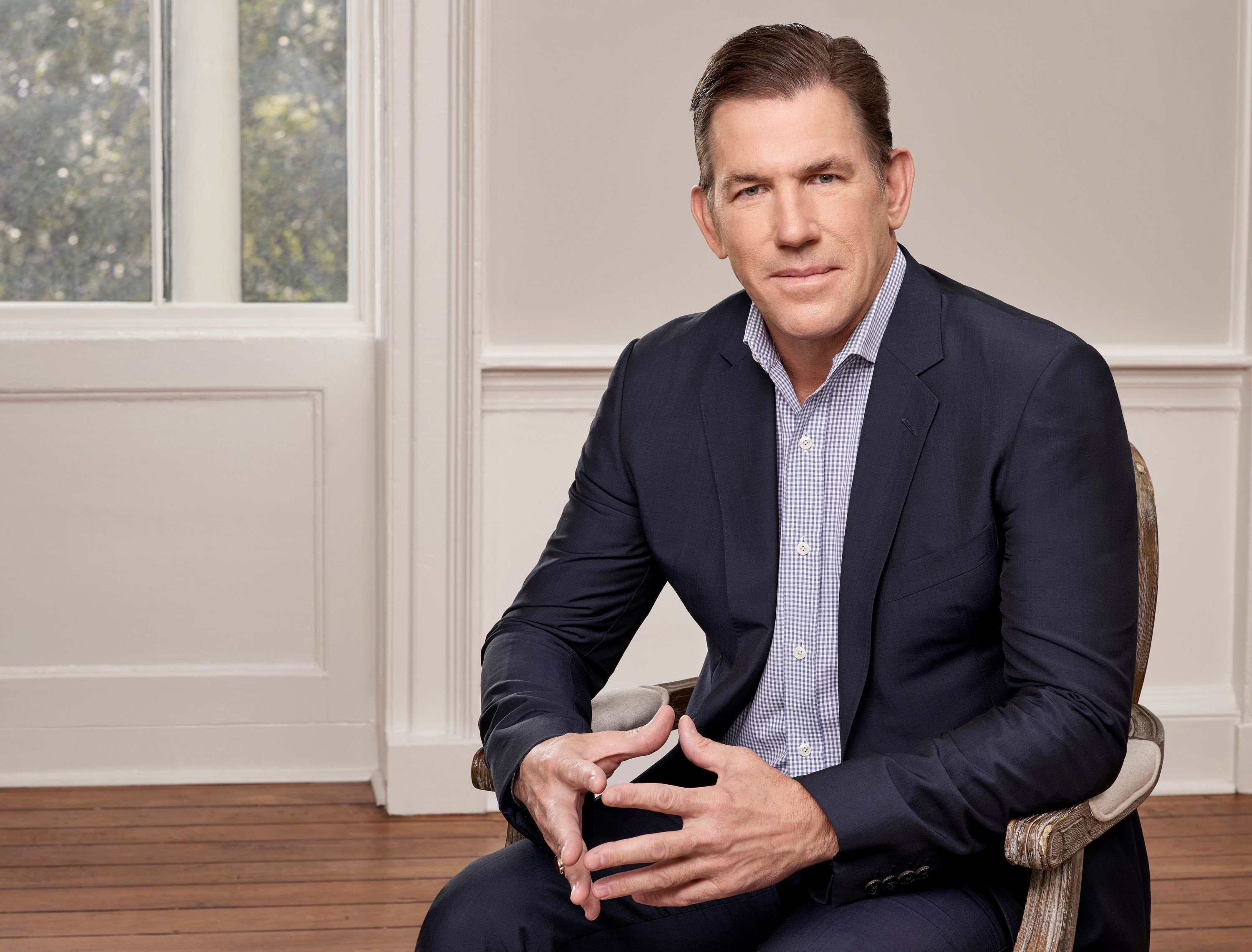 """Thomas Ravenel on the set of """"Southern Charm"""" in 2018 