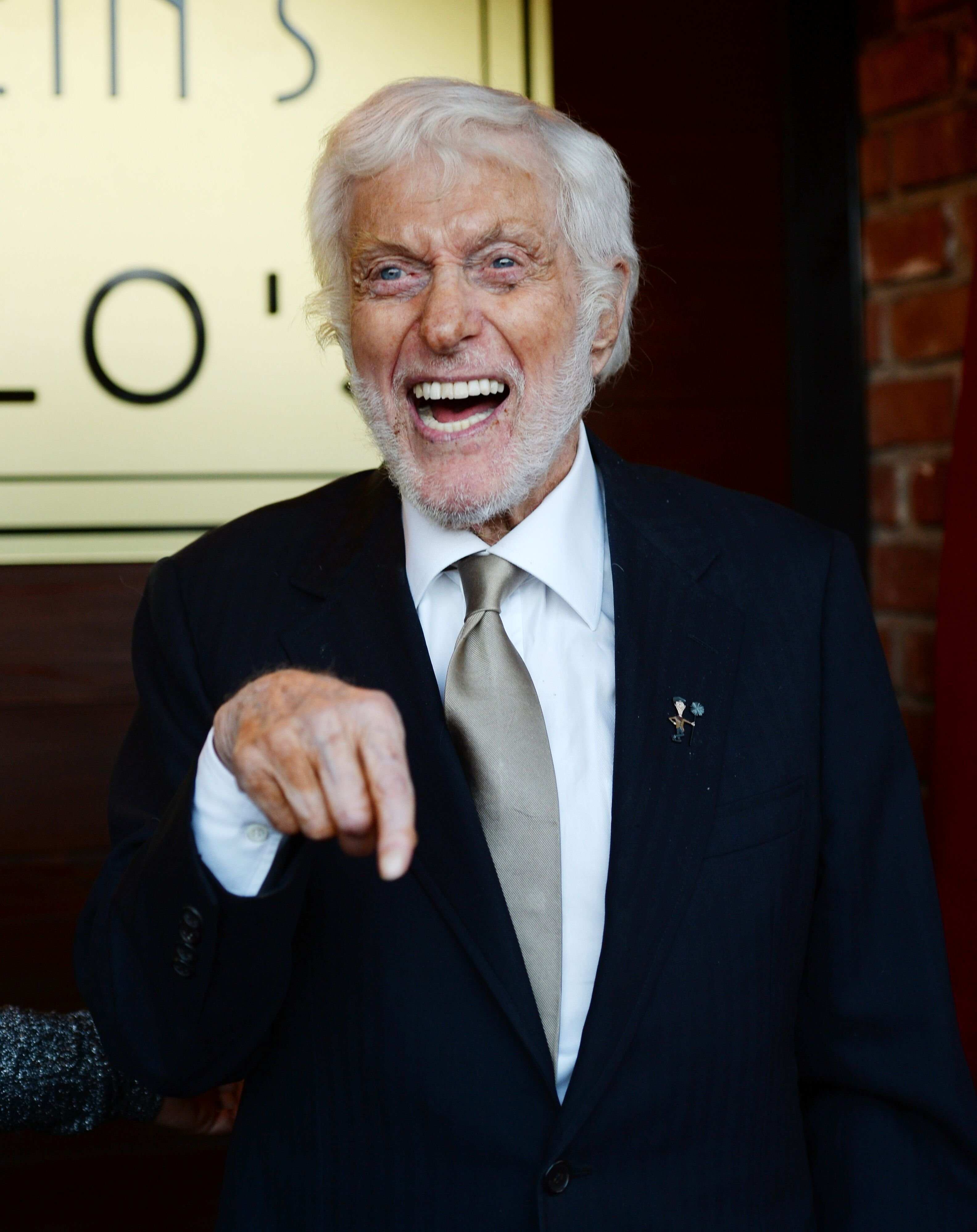 Actor Dick Van Dyke arrives at the debut of the Southern California location of Michael Feinstein's new supper club Feinstein's at Vitello's  | Getty Images / Global Images Ukraine
