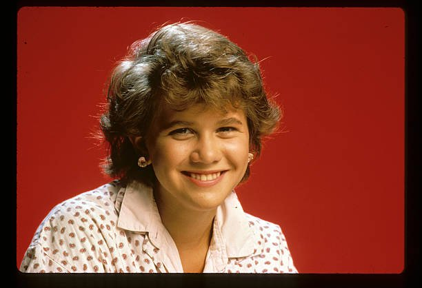 """Portrait of Tracey Gold for """"Growing Pains"""" on July 22, 1985 