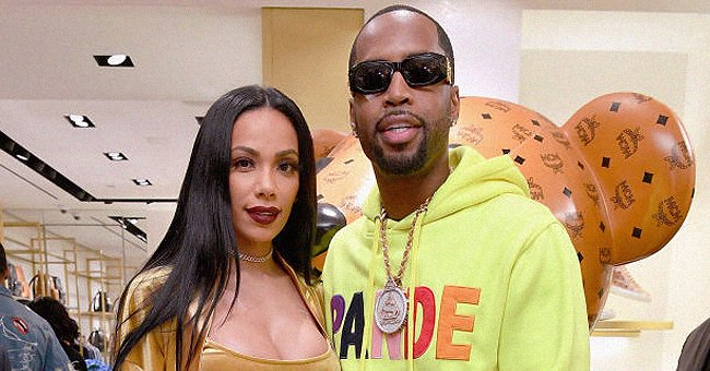 See Erica Mena & Safaree's Adorable Daughter Safire's First 2 Teeth in This Hilarious Photo