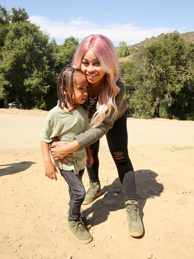 Blac Chyna and son King Cairo attend 'The LEGO Ninjago Movie' Back to School Bash | Getty Images