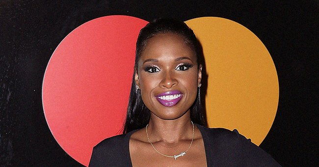 Jennifer Hudson Dazzles in Bright Long Dress & Sparkling Jewelry on Entertainment Weekly Cover