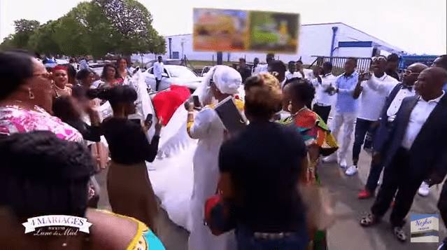 4 mariages pour 1 lune de miel du Mardi 2 juillet 2019 - Nanusha et André   Photo : YouTube/زهة كنز nezha tresor