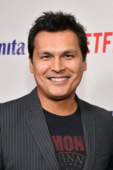 "Adam Beach attends the ""Juanita"" New York screening at Metrograph on March 07, 2019, in New York City. 