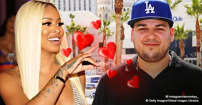 Robert Kardashian's alleged flame Alexis Skyy confesses that she loves him