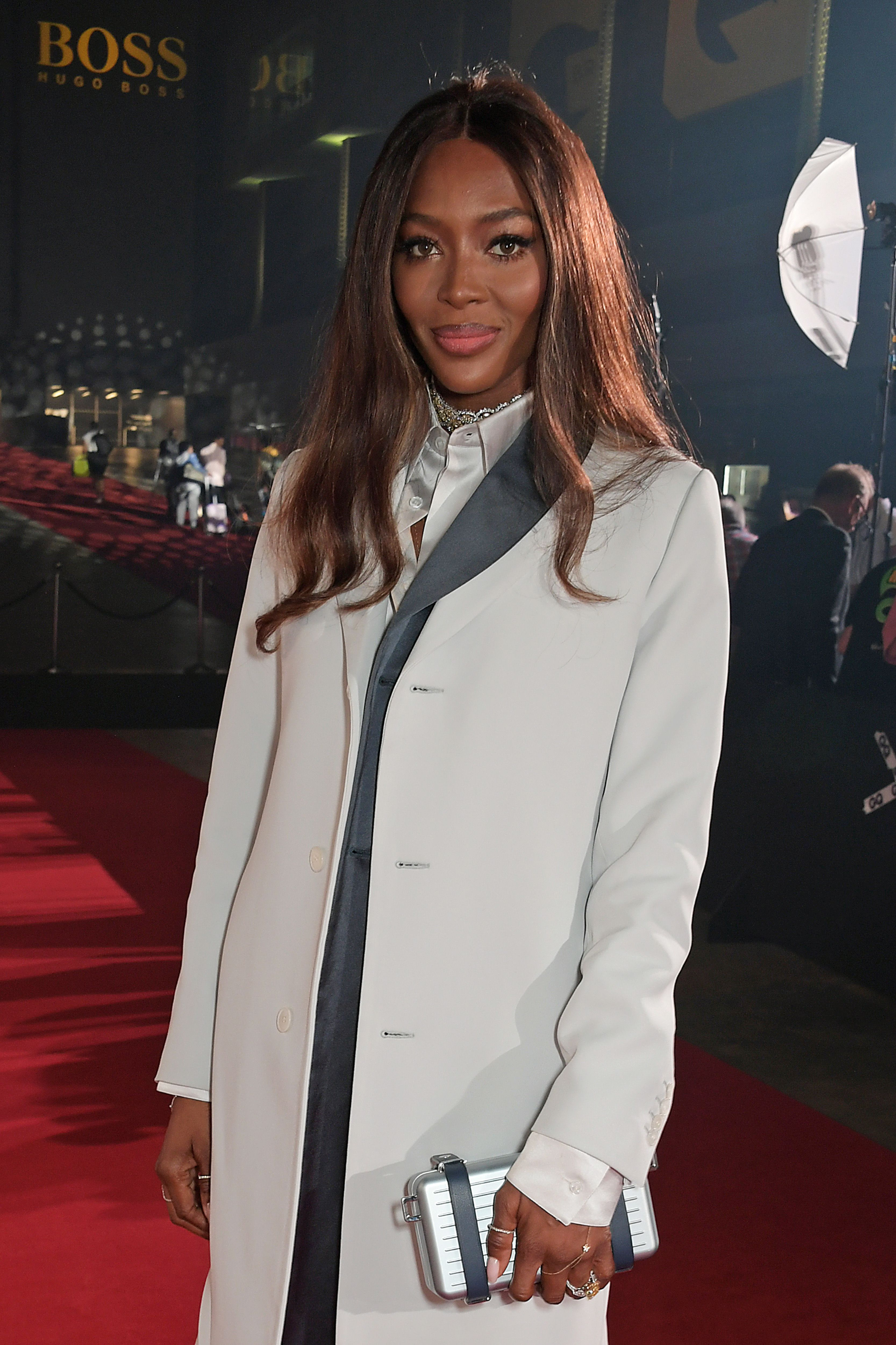 Naomi Campbell attends the GQ Men Of The Year Awards 2019 in association with HUGO BOSS at the Tate Modern on September 3, 2019 in London, England.   Source: Getty Images