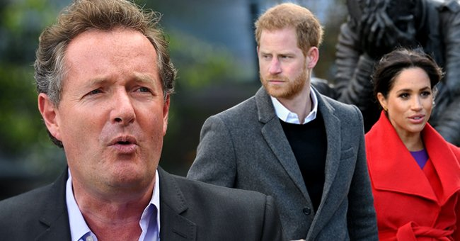 Piers Morgan Accuses Prince Harry and Meghan Markle of Using Their Royal Status for Making Money