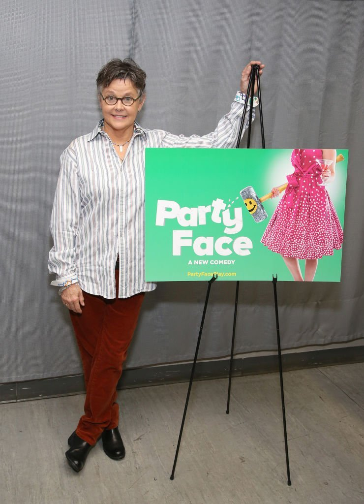 Amanda Bearse at Theatre Row Studios on November 18, 2017 in New York City | Source: Getty Images/Global Images Ukraine