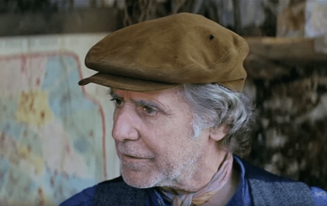 Manuel Alexandre, actor español, en el filme 'El año de las luces', de Fernando Trueba, 1986.   Imagen: YouTube/VEOCLIPS