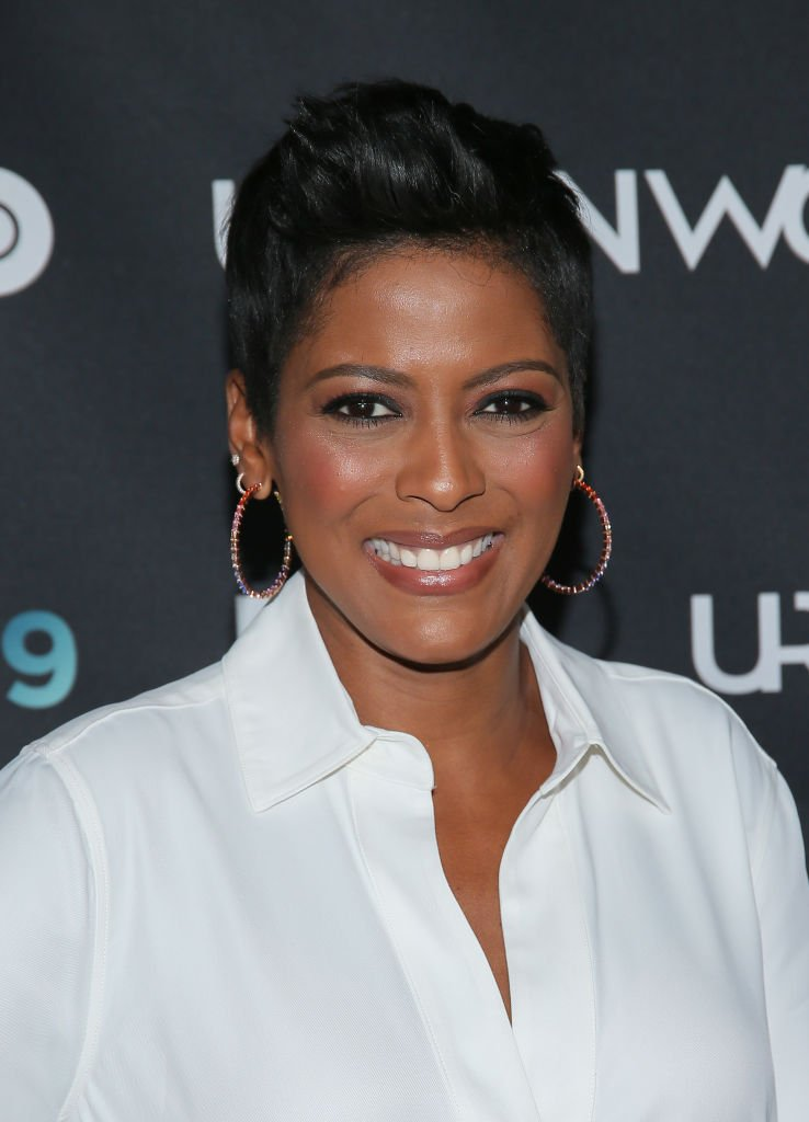 "Tamron Hall at the premiere of ""Mixed-ish"" on day three of the 2019 Urbanworld Film Festival 