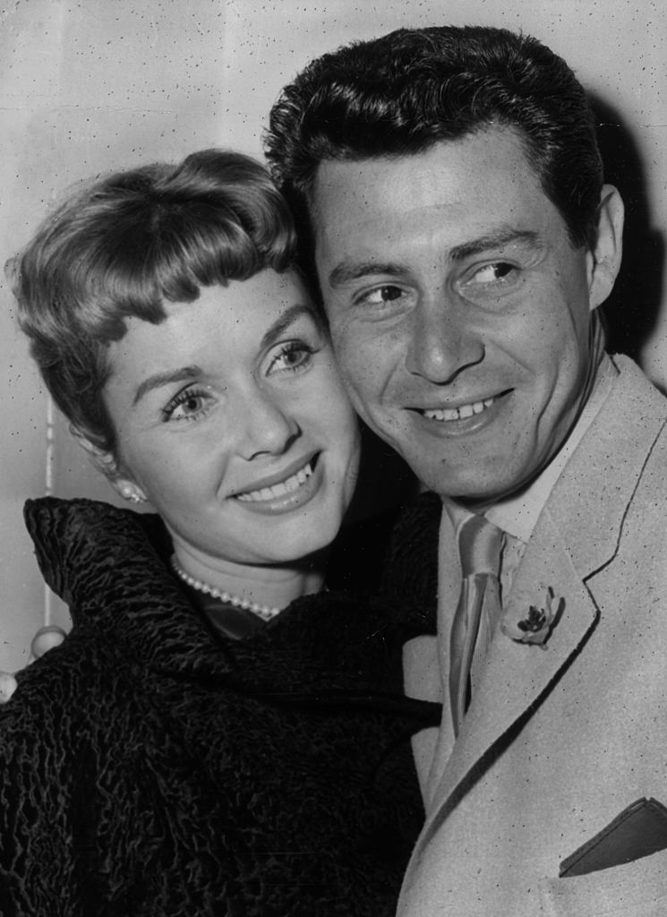 Debbie Reynolds and Eddie Fisher. I Image: Getty Images.