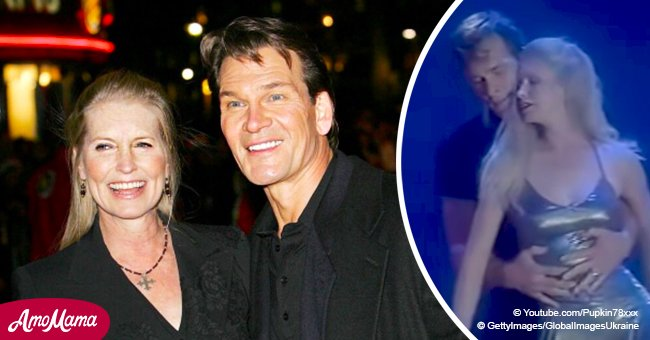 Patrick Swayze dancing with his wife to a Whitney Houston song still bewitches us after years