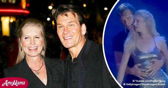 Patrick Swayze dansant avec sa femme sur une chanson de Whitney Houston nous envoûte toujours après des années