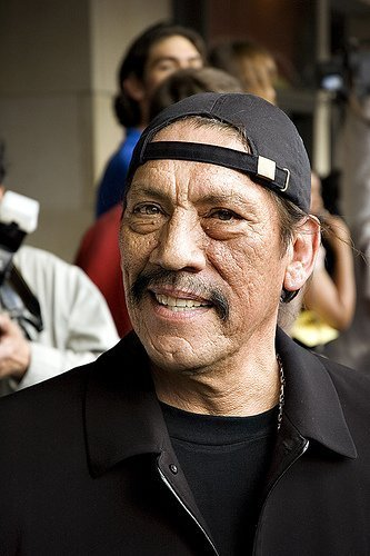 Danny Trejo at the premiere of Grindhouse. | Source: Wikimedia Commons