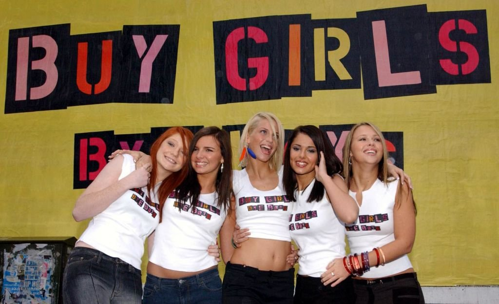 Les filles du groupe Girls Aloud . | Photo : Getty Images