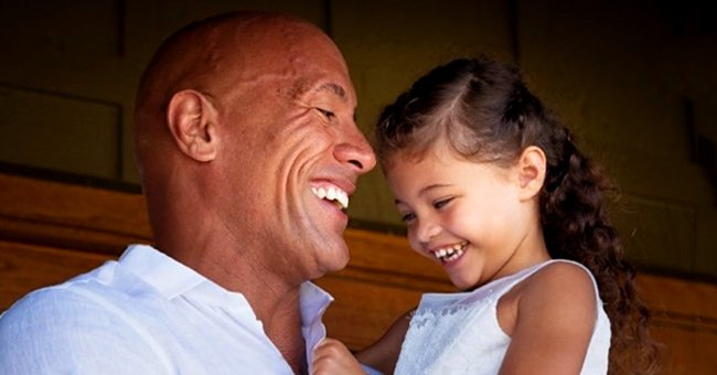 Dwayne 'The Rock' Johnson Shares Heartfelt Message on Daughter Jasmine's 4th Birthday