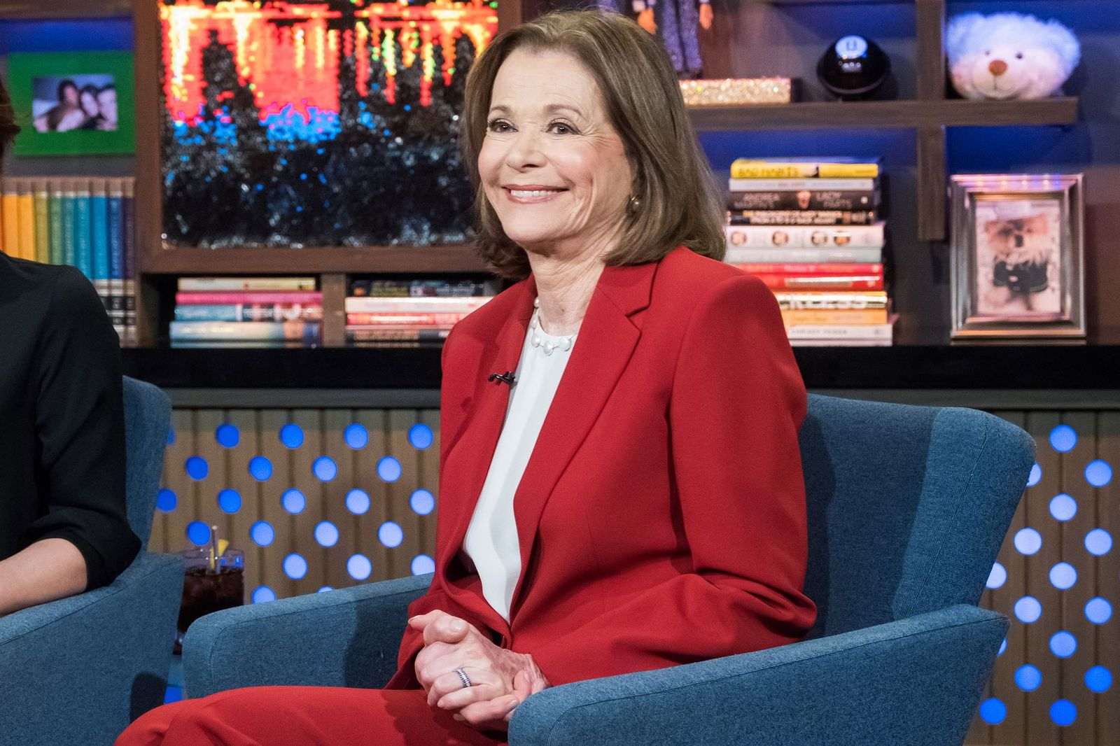 """Jessica Walter on """"Watch What Happens Live With Andy Cohen""""   Getty Images"""