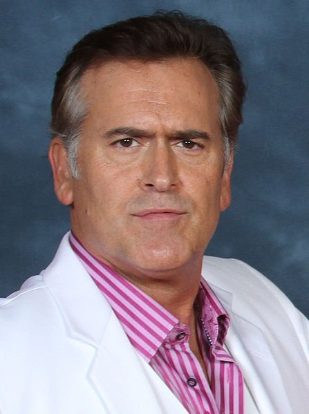 Bruce Campbell at Fandays 2012 in Dallas. | Source: Wikimedia Commons