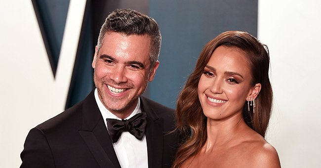 Cash Warren and Jessica Alba at the 2020 Vanity Fair Oscar Party on February 9, 2020 in Beverly Hills, California. | Photo: Getty Images