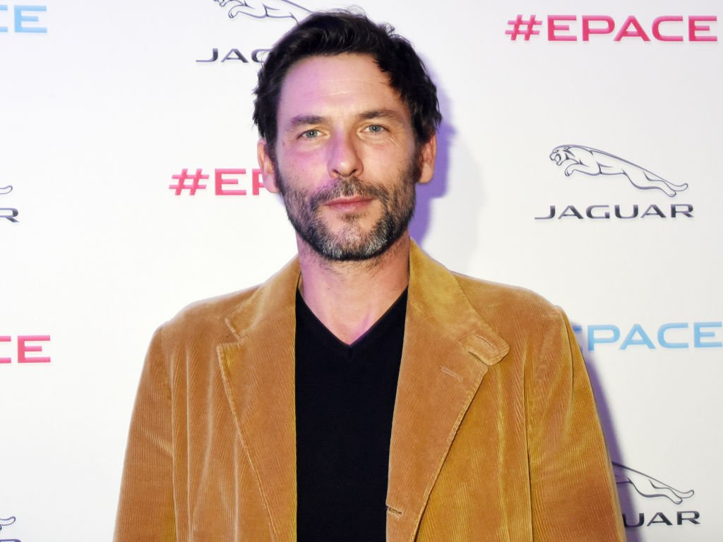Sagamore Stevenin assiste à la Jaguar E-Pace Launch Party au Studio Acacias le 10 octobre 2017 à Paris, France. | Photo : Getty Images.