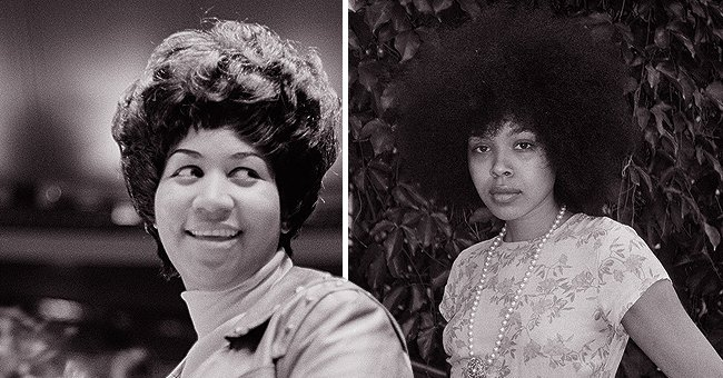 Aretha Franklin's Granddaughter Victorie Looks Timeless in a Retro Dress (Photos)