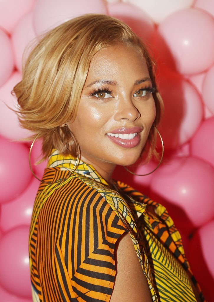 Eva Marcille at a Valentine's event in February 2019. | Photo: Getty Images