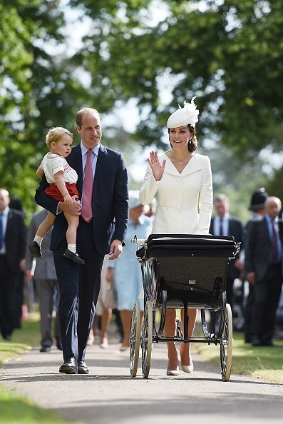 The Christening Of Princess Charlotte Of Cambridge | Photo: Getty Images