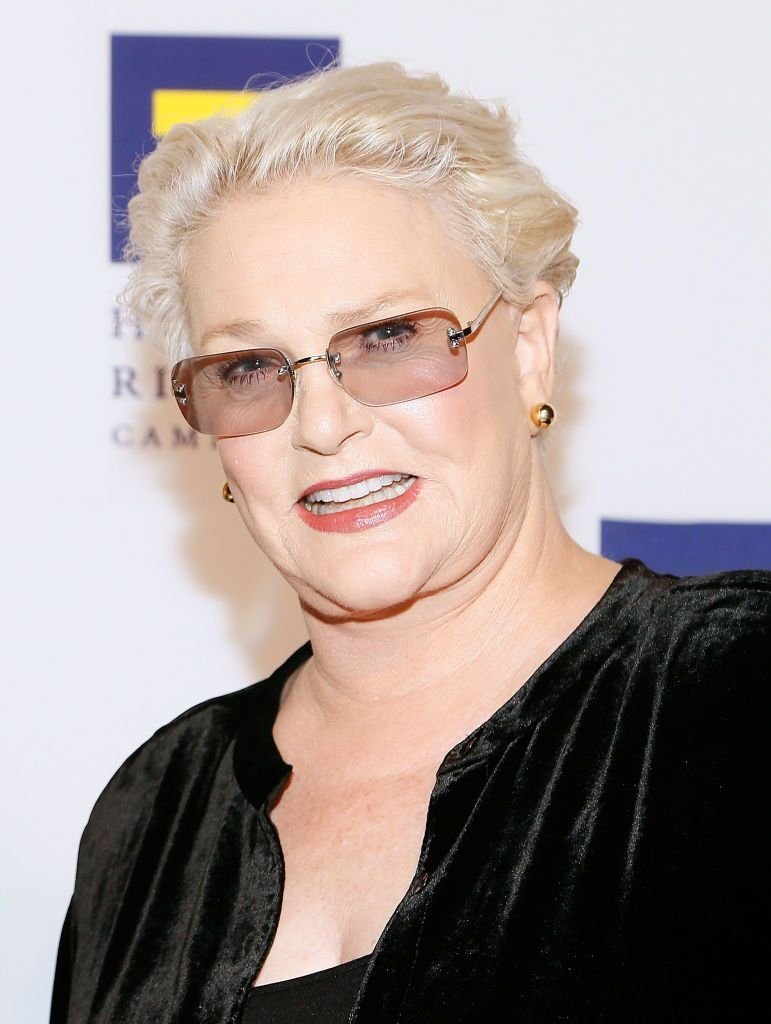 Sharon Gless attends the 22nd annual Human Rights Campaign National Dinner. | Source: Getty Images