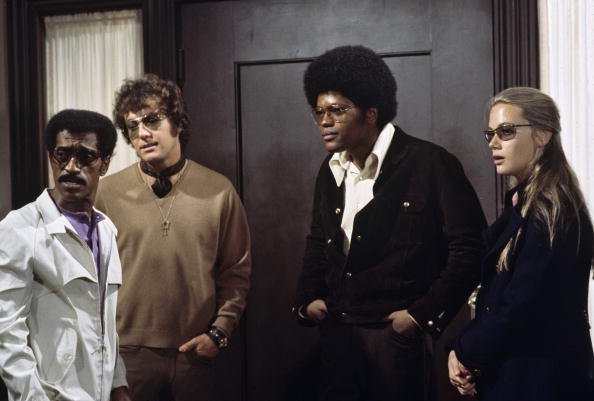 "ammy Davis Jr., Michael Cole, Clarence Williams III, Peggy Lipton  on ""The Mod Squad"" 