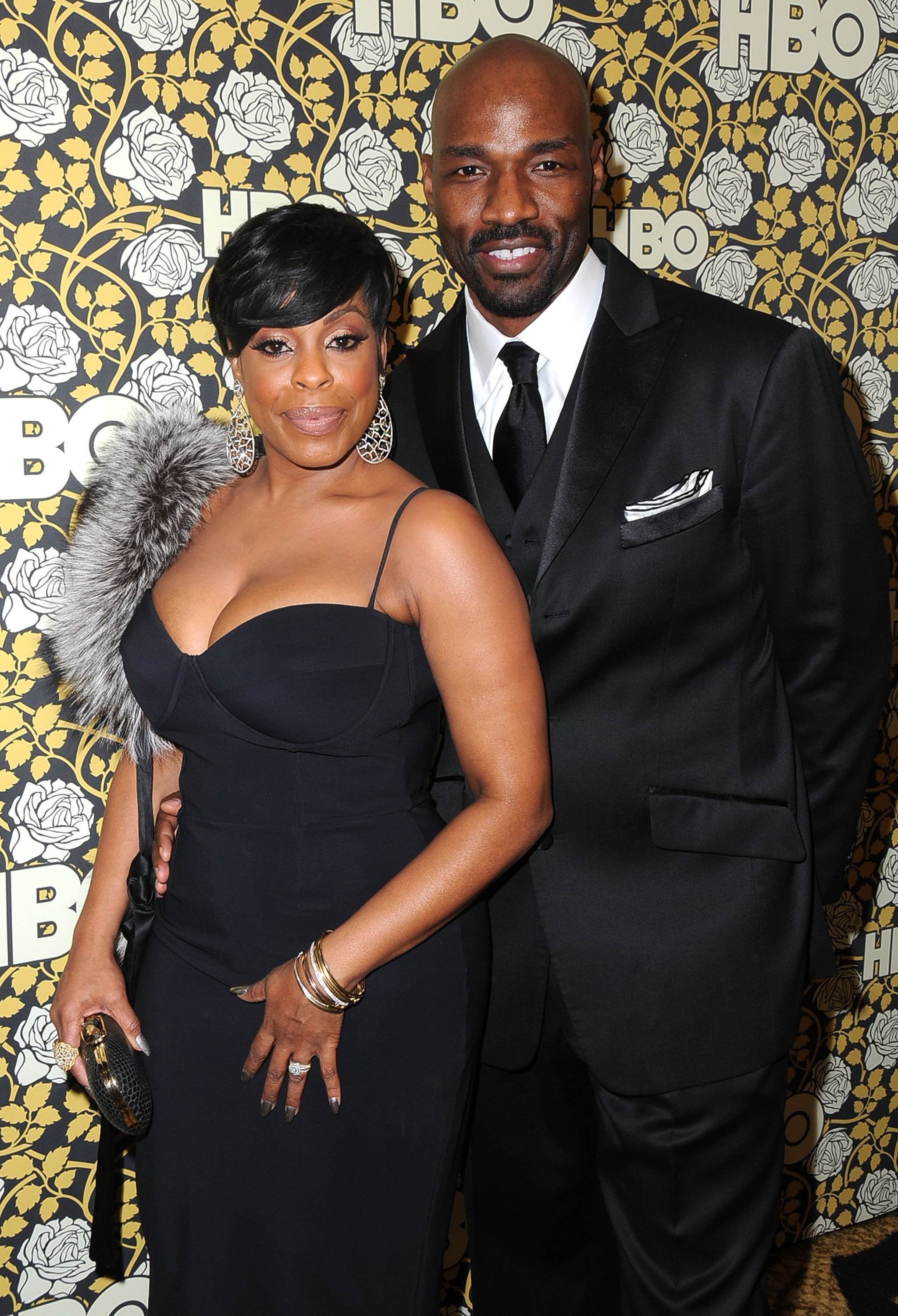 Niecy Nash and Jay Tucker at HBO's Post Golden Globes Awards Party in 2015. | Photo: Getty Images