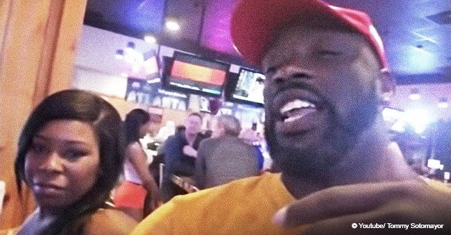 Black man in MAGA hat gets angry and slams Hooters waitress after she asked if he supports Trump