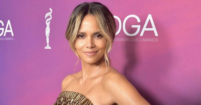 Halle Berry Looks like an Athlete as She Flaunts Her Muscles at 54 in Nude Top & Shorts (Photo)