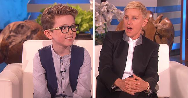 Ellen DeGeneres Left in Awe of 9-Year-Old Aidan McCann's Impressive Tricks
