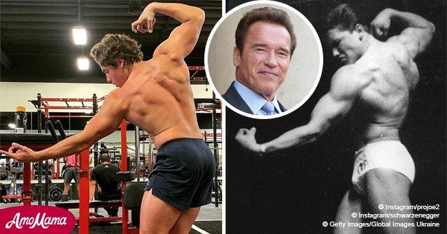 Arnold Schwarzenegger a un fils adulte qui ressemble comme deux gouttes d'eau à son père sur la dernière photo qu'il a partagée