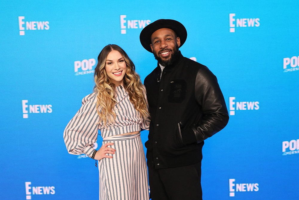 Dancers Allison Holker and Stephen 'tWitch' Boss on February 18, 2020. I Image: Getty Images.