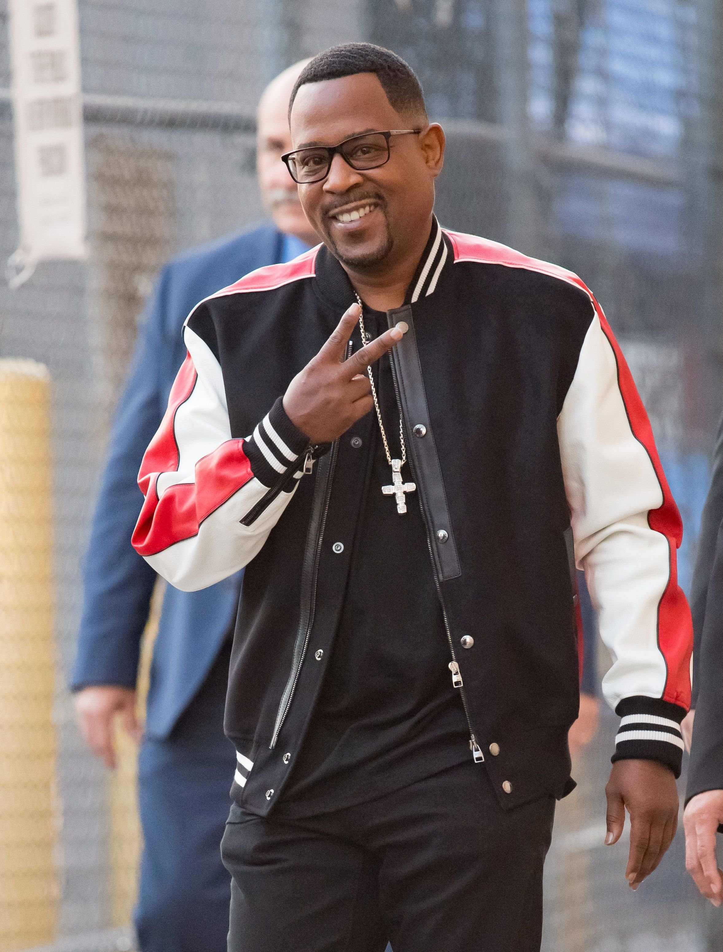 """Martin Lawrence at """"Jimmy Kimmel Live"""" in Los Angeles on October 25, 2018. 