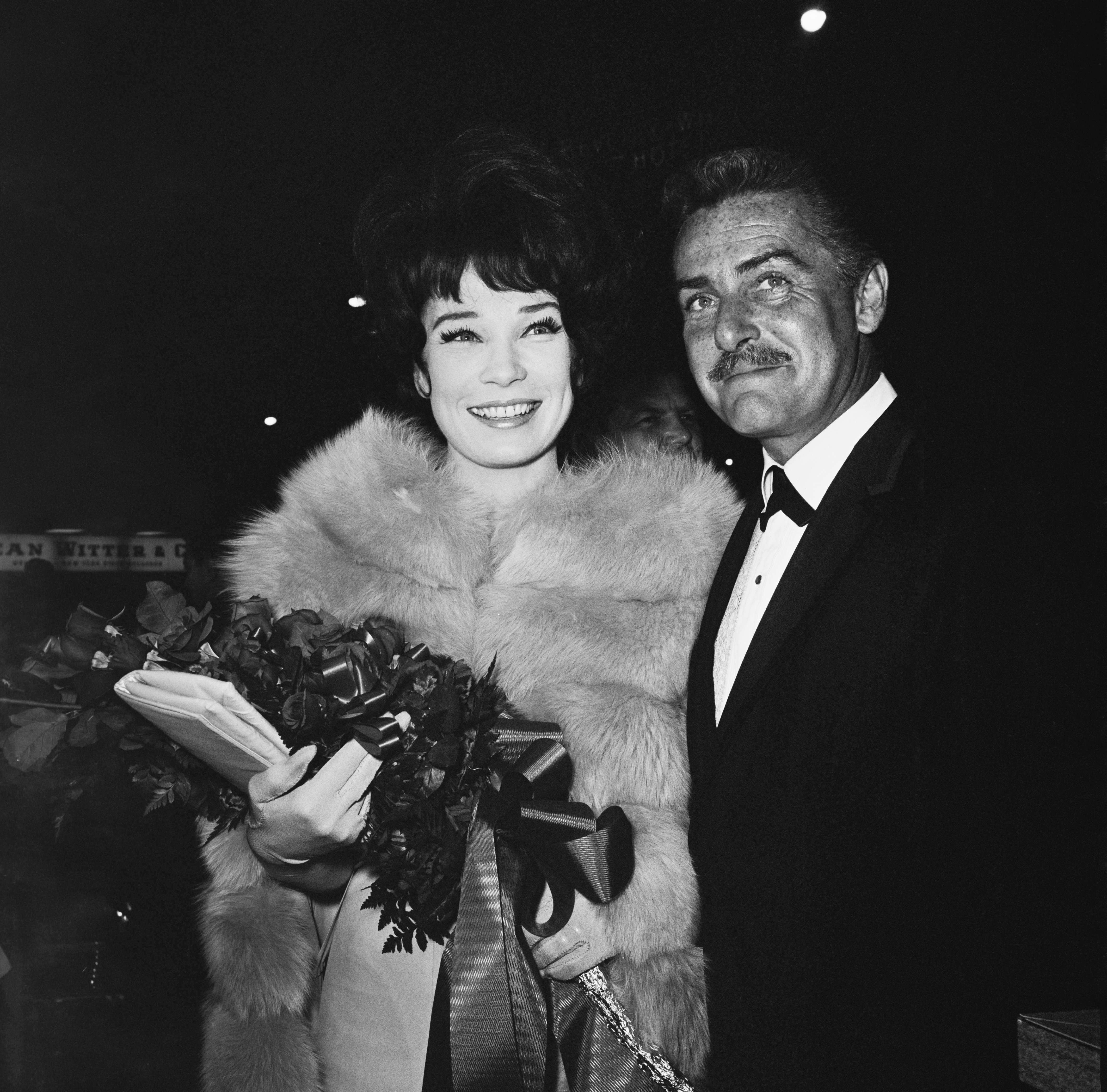 Shirley MacLaine and her husband Steve Parker attend the premiere of 'What a Way To Go!', US, May 1964 | Photo: GettyImages
