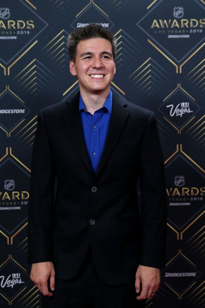 James Holzhauer arrives at the 2019 NHL Awards at the Mandalay Bay Events Center  | Getty Images