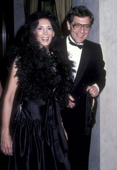 George Segal and wife Marion Sobel attending 'John Jay Awards Dinner' on April 16, 1981 | Photo: Getty Images